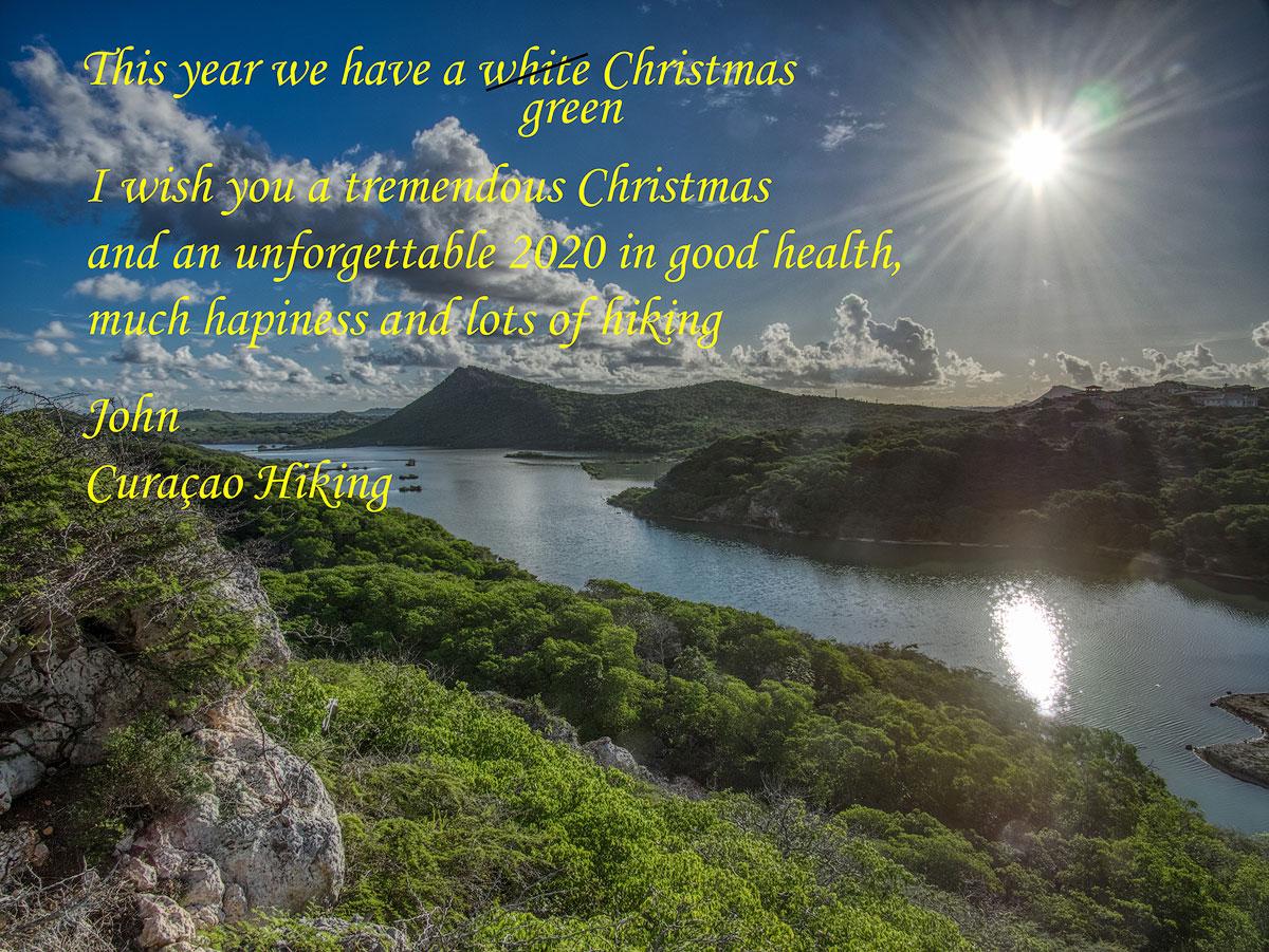 Kerstwens 2019 2020 EN jullie john curacaohikings